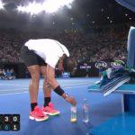 Rafael Nadal's bottle zen | Australian Open 2017
