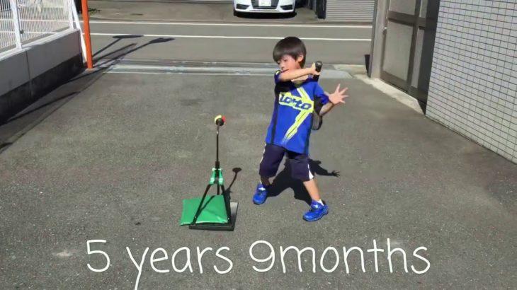 Tennis Practice Diary 4 – 8 years/ 4歳から8歳までのテニス練習成長日記