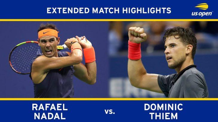 Rafael Nadal vs Dominic Thiem | US Open 2018 Quarter-Final