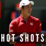 Kei Nishikori(錦織圭) | TOP 50 Hot Shots
