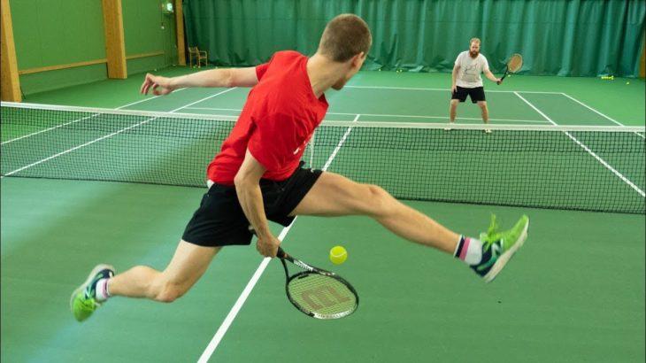 Tennis Trick Shots