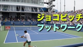 【テニス】フットワークの凄まじさがよく分かるジョコビッチの動画【ジョコビッチ】