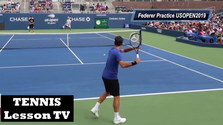 Federer Practice US OPEN TENNIS 2019 HD/フェデラー 練習