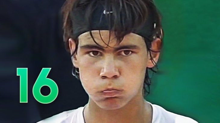 Rafa Nadal in Challenger (16 years old) – 2003