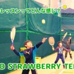 〈テニス〉キッズのレッスンってどんな感じ?【UNNO STRAWBERRY TENNIS】