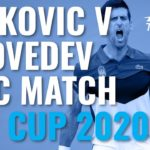 Novak Djokovic & Daniil Medvedev INCREDIBLE Rallies in Epic Match | ATP Cup 2020