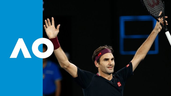 Roger Federer vs John Millman – Match Highlights (3R) | Australian Open 2020