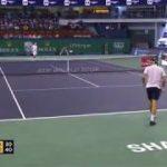 Nishikori (錦織) VS Federer (フェデラー) Shanghai