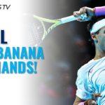 25 Times Rafa Nadal Hit An Unreal Banana Forehand!