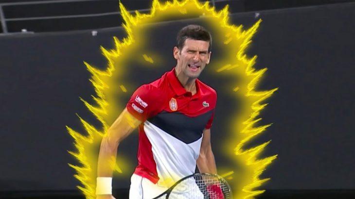 【テニス】これが無我の境地!?ジョコビッチ、フェデラー、ナダル、マレーの覚醒したプレーがヤバい!【衝撃】Djokovic,Federer,Nadal,Murray beast mode【tennis】