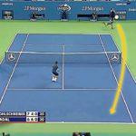 【テニス】もはや物理的にありえない!?ナダルの伝家の宝刀、フォアハンドのバナナショットがあまりにも凄すぎる!!【衝撃】Nadal banana shot【tennis】