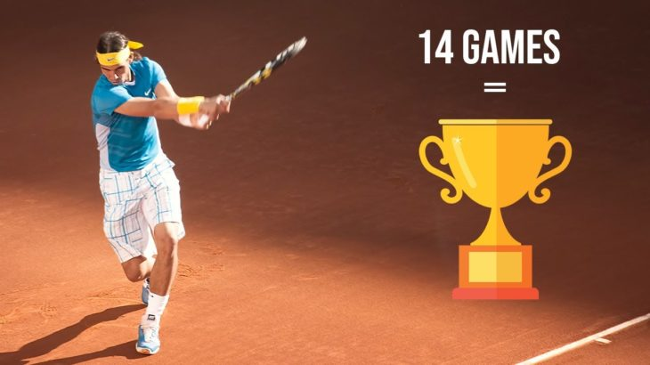 """Prime Nadal was TERRIFYING! When Rafa Dropped """"ONLY 14 Games"""" to win a Title!"""