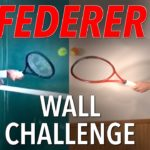 Roger Federer Wall Challenge – Home Tennis Drills