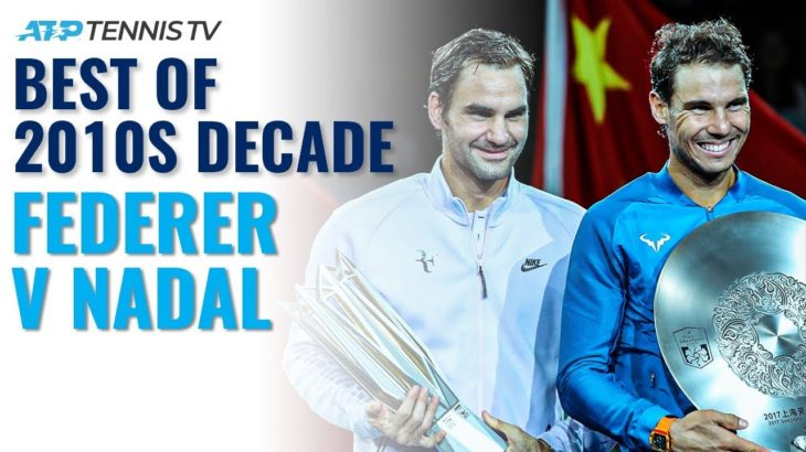 Roger Federer vs Rafael Nadal: Best ATP Shots & Rallies in 2010s Decade