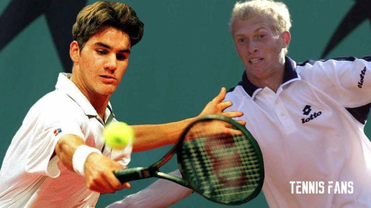 Super Rare Highlights 2002 • Roger Federer vs Nikolay Davydenko (HD)