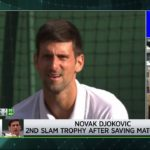 Tennis Channel Live: 2019 Wimbledon Rewind: Roddick Analyzes Djokovic vs. Federer Final