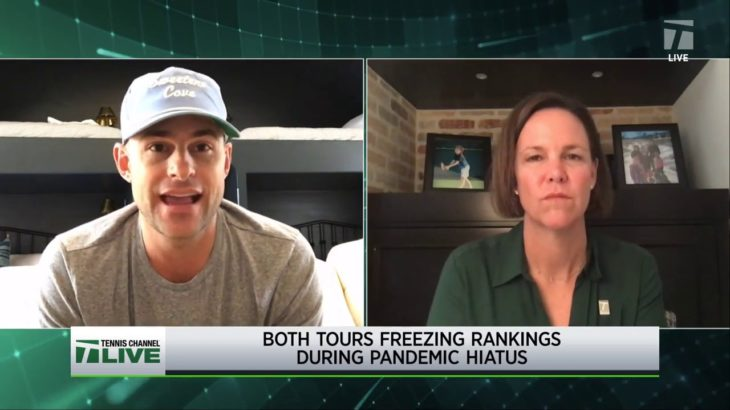 Tennis Channel Live: Roddick on Federer Tricking Him on Specific Shot for 12 Years