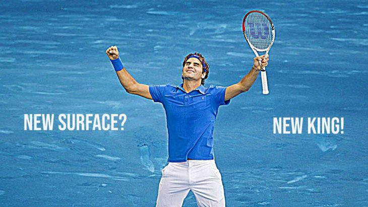 The Day Roger Federer MASTERED Blue Clay