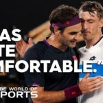 What it is like to face Roger Federer | Wide World of Sports