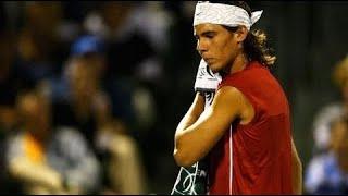 【テニス】若い頃えげつねえな…約15年前のナダルのキレがヤバすぎるスーパープレイ集【衝撃】young nadal best points 【tennis】