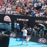 2020AO テニス観戦 珍遊記 R-フェデラー