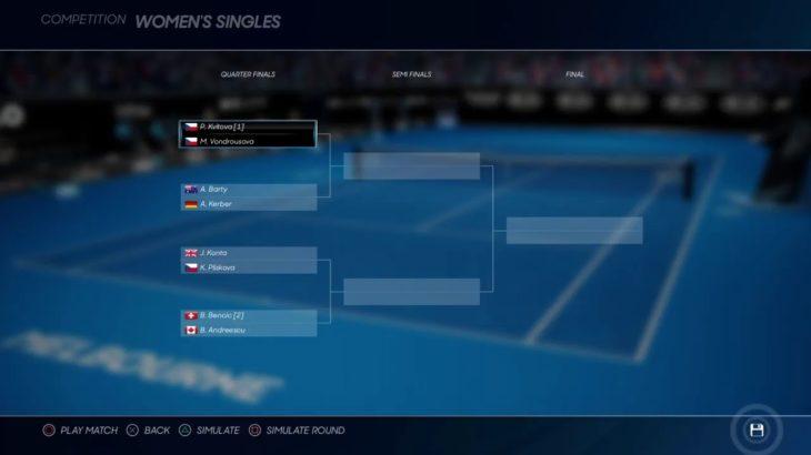 2日後発売のAO tennis 2の解説と質問に答える生放送[オンラインマッチとかやりながら]