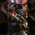 ガット張り練習(3本目) 硬式テニス 1本張り【アラウンドザワールド】stringing  tennis