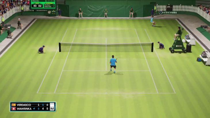初心者歓迎!テニスしようぜ!(AO テニス2 オンライン対戦 日本語、PS4)生放送