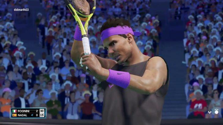 挑戦者求む!(AO テニス2 オンライン対戦 日本語、PS4)生放送