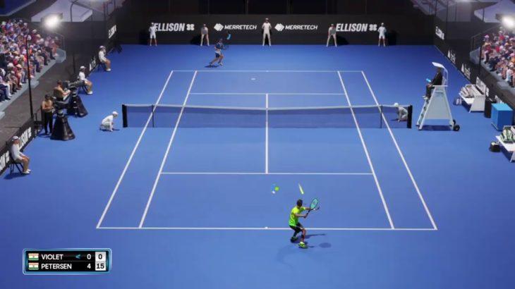 [AO Tennis 2] テニスプレイヤー始めました! #1 [PS4]