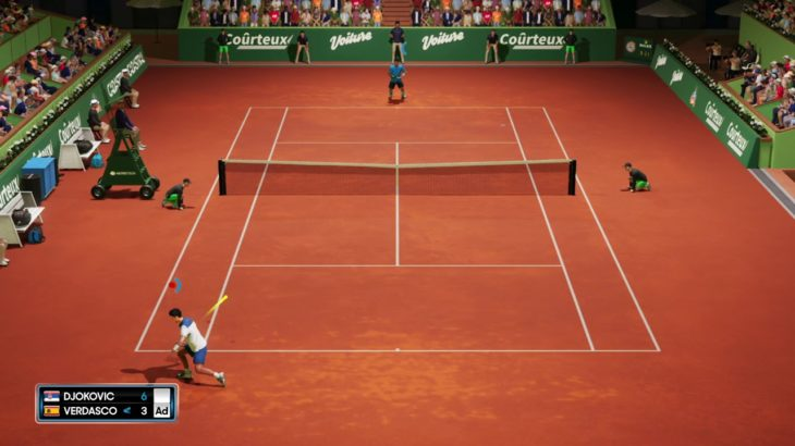 AO Tennis 2(AOテニス2)_ロングラリー