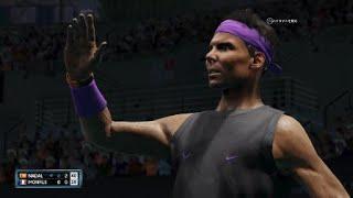 AO Tennis 2_こんな事が出来るテニスゲームがあっただろうか(振り返り打ち)