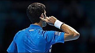 【テニス】覚醒状態のジョコビッチがマジでヤバすぎるスーパープレイ集【衝撃】Djokovic beast mode points 【tennis】