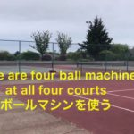 Tennis lesson resumed 5/16 テニスレッスンが再開した