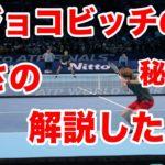 【テニス】【試合】ジョコビッチの強さをコートレベルで解説してみました。