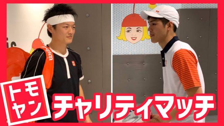 【完全再現してみた!】錦織圭×フェデラー  幻のチャリティマッチ!【テニス】