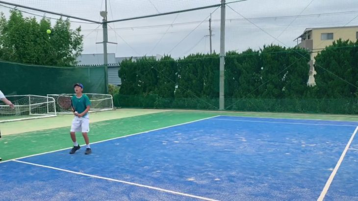 【ジュニアテニス】とある日の練習です。2019ジュニアテニス全国大会3大会連続決勝戦に進出した(全国選抜ジュニア・全国小学生テニス選手権・全日本ジュニア)選手が日々行っている練習動画です。