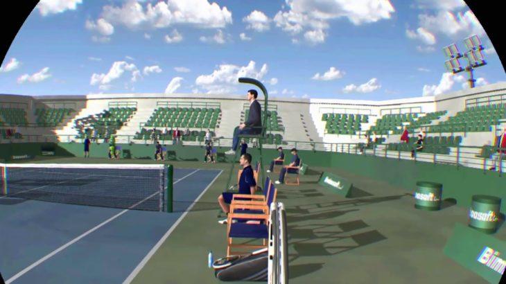 【ドリームマッチテニス】#33 VS WEAK MAN in ドバイ 最高難易度でワールドツアー1位を目指す!【Dream Match Tennis VR】