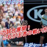 【AO TENNIS 2】ノバク・ジョコビッチ VS ロジャー・フェデラー【ハイライト】