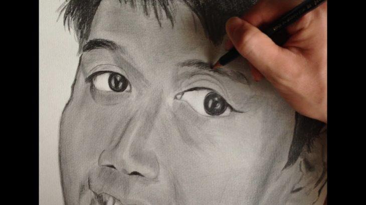 錦織圭を描いてみた Drawing Kei Nishikori