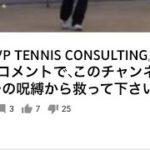 <『EVP TENNIS CONSULTING』>高評価&コメントを御願いしたのは、「低評価押すなよ!絶対押すなよ!」って振りじゃないから!