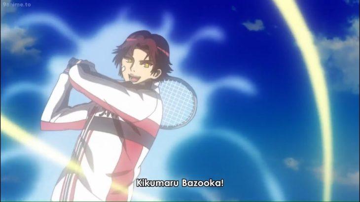 劇場版 テニスの王子様 二人のサムライ II 菊丸 英二 一撃で勝利を決める -Eiji Kikumaru beat the opponent [The Prince of Tennis 2020]