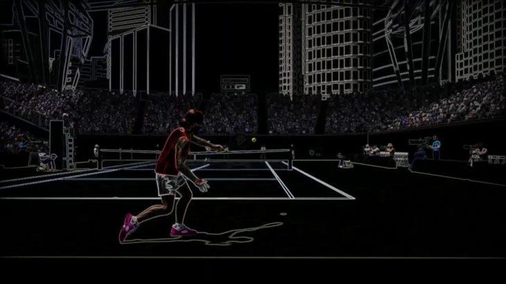 Rétro future tennis PS4 レトロで最新のテニスゲーム