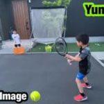 【Tennis-球出し練習】フェデラーをImage(バックハンド練習)