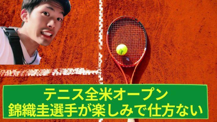 錦織圭選手の全米オープンに期待!