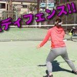 【テニスレッスン動画】佐藤博康プロ直伝!ダブルスで必須!ブロックボレーのコツ!!