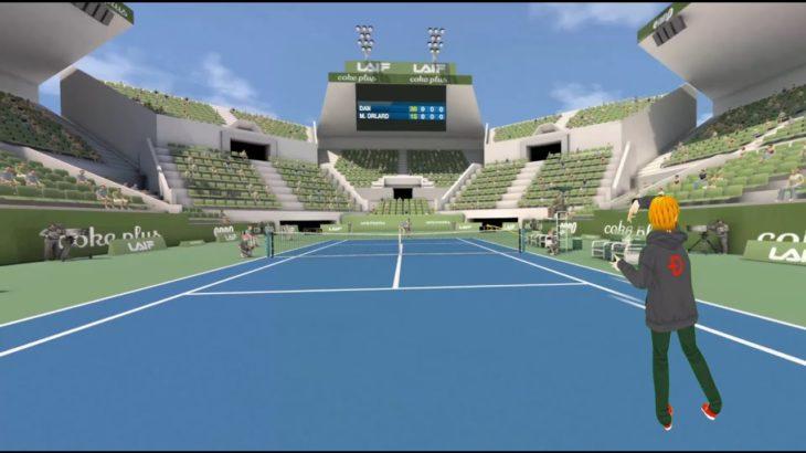【FIRST PERSON TENNIS】VRテニスゲームをテニス初心者が紹介