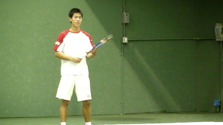 錦織圭 コート練習3 Kei Nishikori (JPN) Practise SAP Open 2010