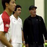 錦織圭 コート練習1 Kei Nishikori (JPN) Practise SAP Open  2010