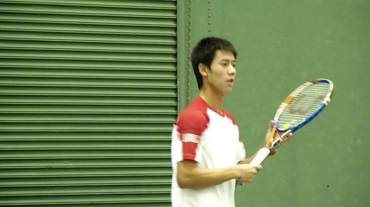 錦織圭 コート練習4 Kei Nishikori (JPN) Practise SAP Open 2010